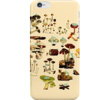 CATS + SPACESHROOMS iPhone Case/Skin