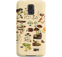 CATS + SPACESHROOMS Samsung Galaxy Case/Skin