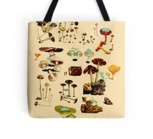 CATS + SPACESHROOMS Tote Bag