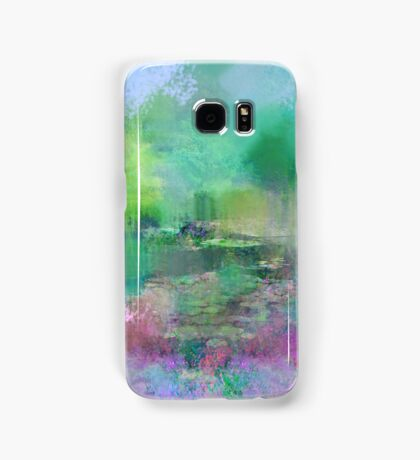 Pastel Impressions of Monet's Water Lily Pond Samsung Galaxy Case/Skin
