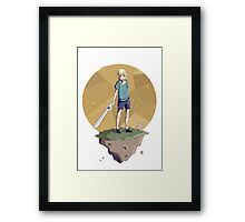 Young Adventurer  Framed Print