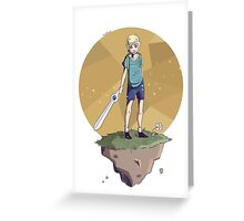 Young Adventurer  Greeting Card