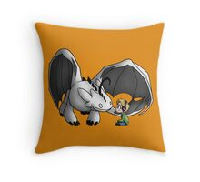 How To Train Your 'Sup Guy Throw Pillow