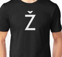 Žižek's Ž (white, basic Z) Unisex T-Shirt