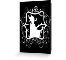Maleficent Nightmare Greeting Card