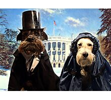 presidential pups Photographic Print