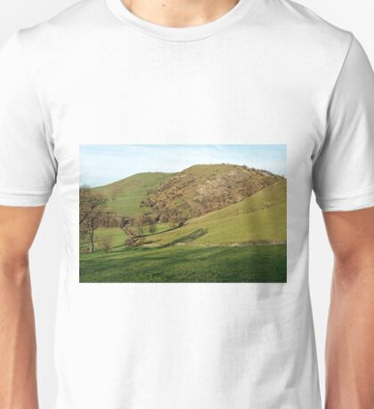 Across Thorpe Cloud to Bunster Hill Unisex T-Shirt