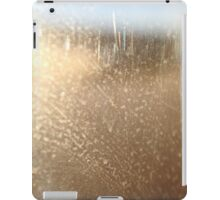 Through a Glass, Smearily iPad Case/Skin