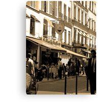 Morning, Rue de Buci Canvas Print