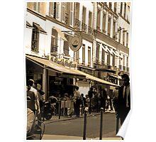 Morning, Rue de Buci Poster