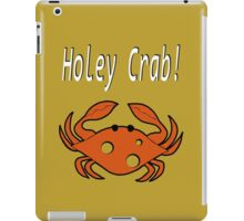 Holey crab! iPad Case/Skin