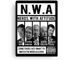 N.W.A. Nerds With Attitude Canvas Print