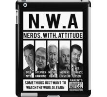 N.W.A. Nerds With Attitude iPad Case/Skin