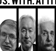 N.W.A. Nerds With Attitude Sticker