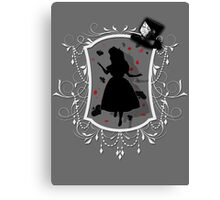 Stuck inside the Looking Glass Canvas Print