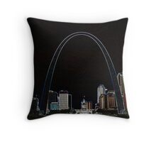 The Arch 2 Throw Pillow