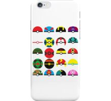 Minimal Pokeballs iPhone Case/Skin