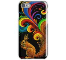Psychedelic Squirrel  iPhone Case/Skin