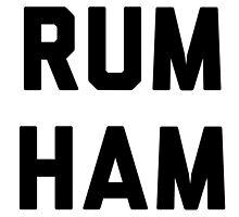Rum Ham by Rivers Turow
