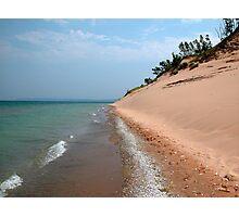 Sleeping Bear Dunes Beach Lake Michigan Photographic Print