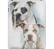 Sparkle and Buster iPad Case/Skin