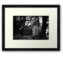 gothic discovery Framed Print