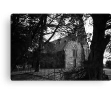 gothic discovery Canvas Print