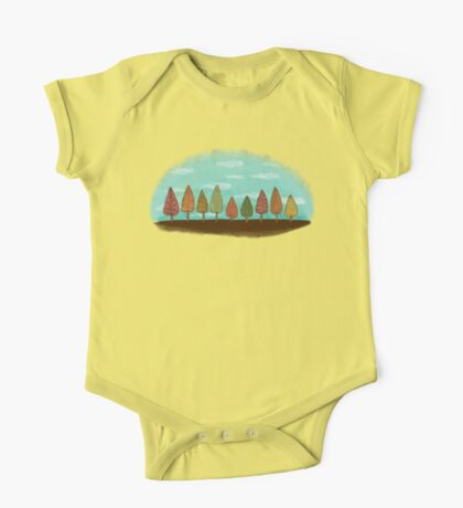 COLORFUL GROVE One Piece - Short Sleeve