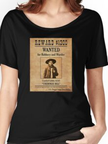 Cherokee Bill Wanted Poster Women's Relaxed Fit T-Shirt