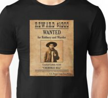 Cherokee Bill Wanted Poster Unisex T-Shirt