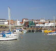 Bridlington Harbour Scene 02 by Rod Johnson