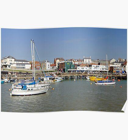 Bridlington Harbour Scene 02 Poster