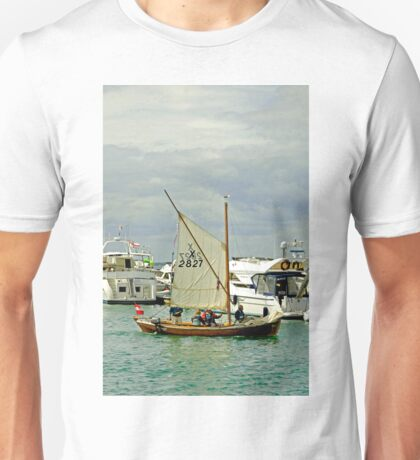 Leaving Yarmouth Under Sail Unisex T-Shirt