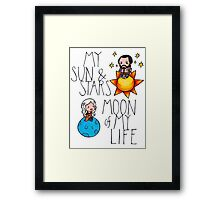 Game of Thrones - Daenerys & Khal Drogo Framed Print