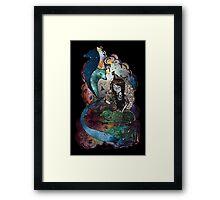BETWEEN THE STARS AND I Framed Print