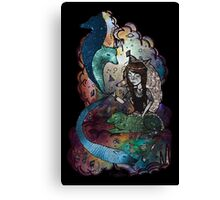 BETWEEN THE STARS AND I Canvas Print