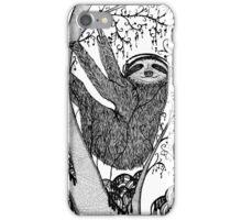 PEACE-TOED SLOTH iPhone Case/Skin