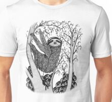 PEACE-TOED SLOTH Unisex T-Shirt