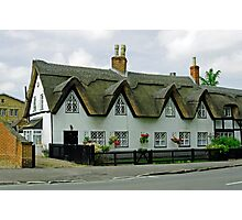 Thatched Cottages In Repton Photographic Print