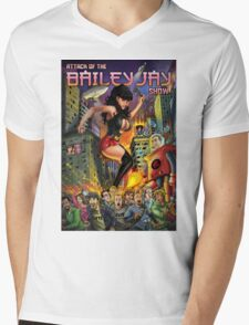 Attack of The Bailey Jay Show  Mens V-Neck T-Shirt