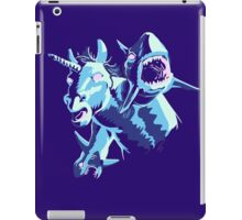 UNICORN WITH SHARKS FOR HANDS! iPad Case/Skin