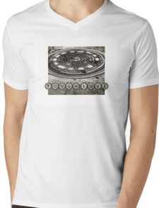 TOUGH LOVE - MANHOLE COVER Mens V-Neck T-Shirt