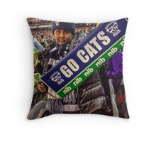 Go Cats! - J at the G Throw Pillow