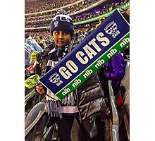Go Cats! - J at the G Photographic Print