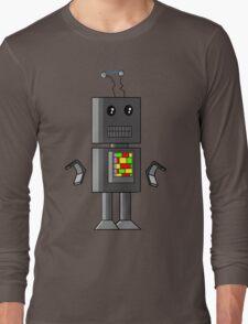 funky robot Long Sleeve T-Shirt