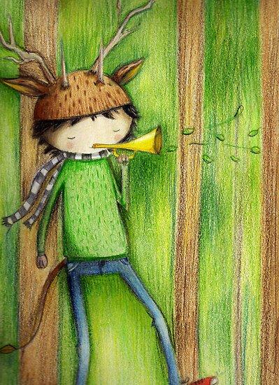 deer man by jess