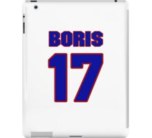 Basketball player Boris Nachamkin jersey 17 iPad Case/Skin