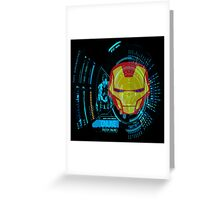 Iron tech Greeting Card