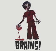 Zombie - Brains!  by Monsterkidd