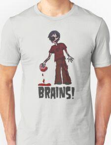 Zombie - Brains!  T-Shirt